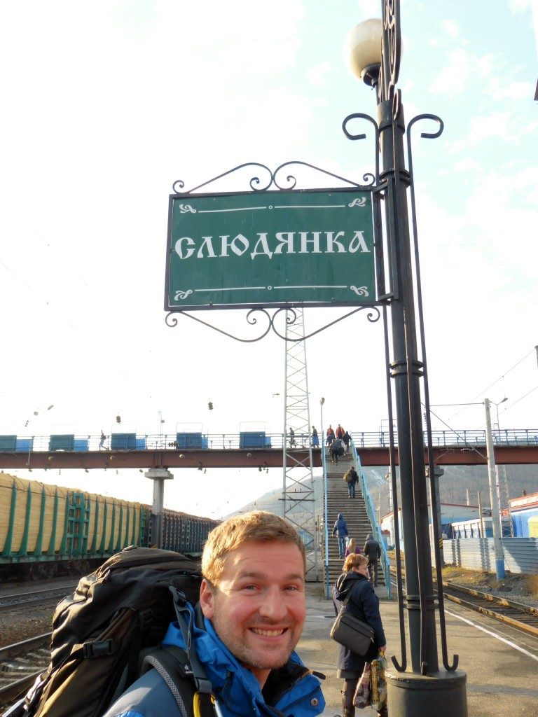 Wieder an Bord der Transsib in Sludjanka