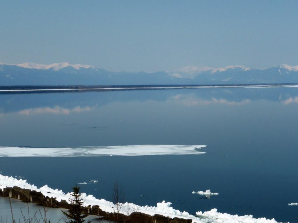 Blick auf den Baikalsee