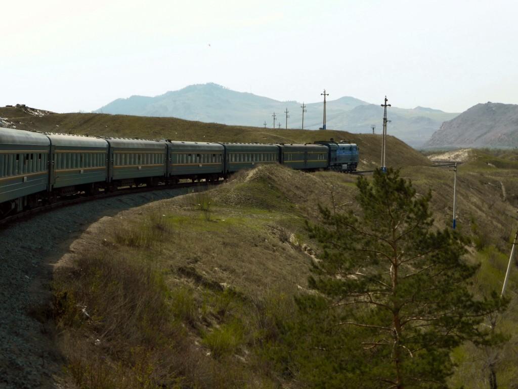 Tschu Tschu tschu, die transsibirische Eisenbahn