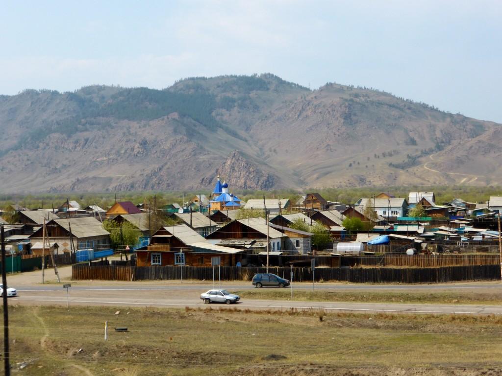 Burjatisches Dorf