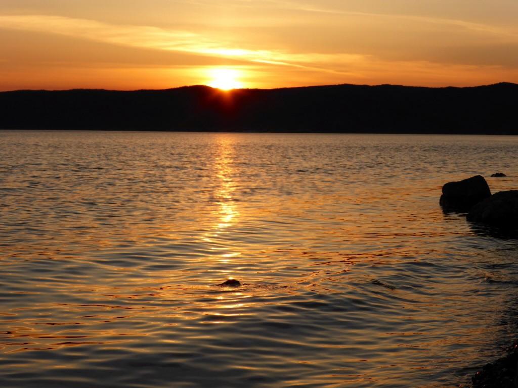 Sonnenuntergang in Listvjanka