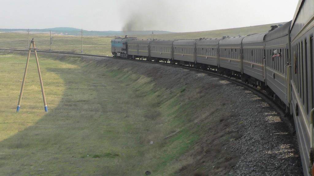 Mit der Transib durch die Mongolei