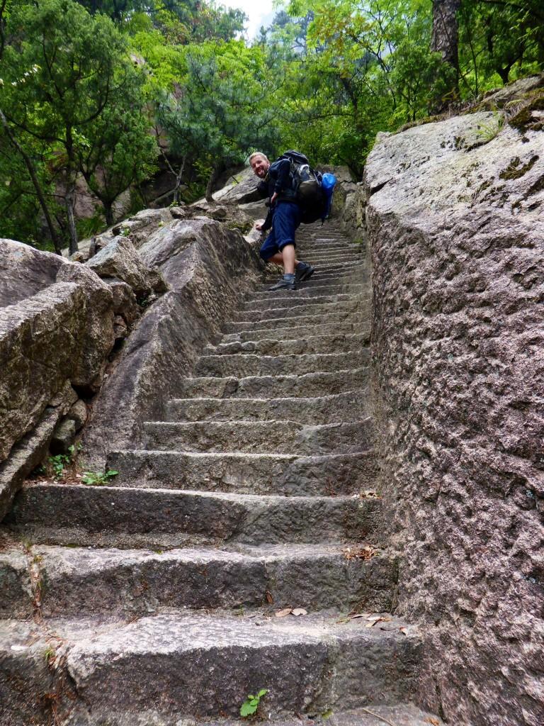 Stufen, Stufen, Stufen...und kein Ende in Sicht