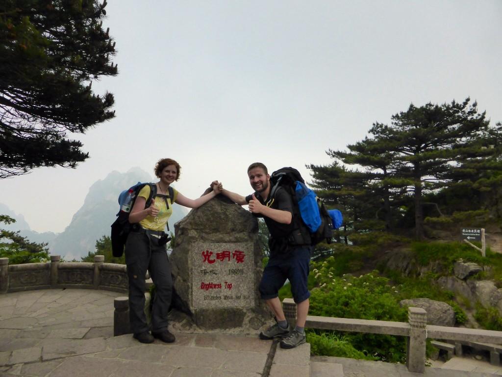 Den Gipfel erklommen