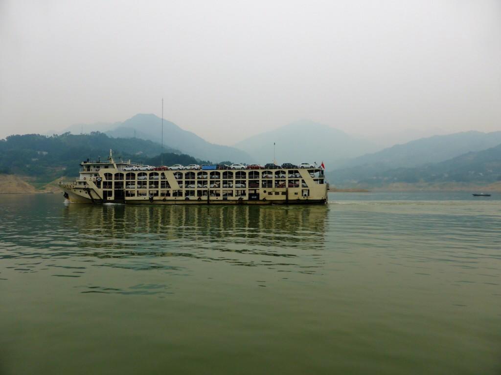Überholmanöver auf dem Yangtze