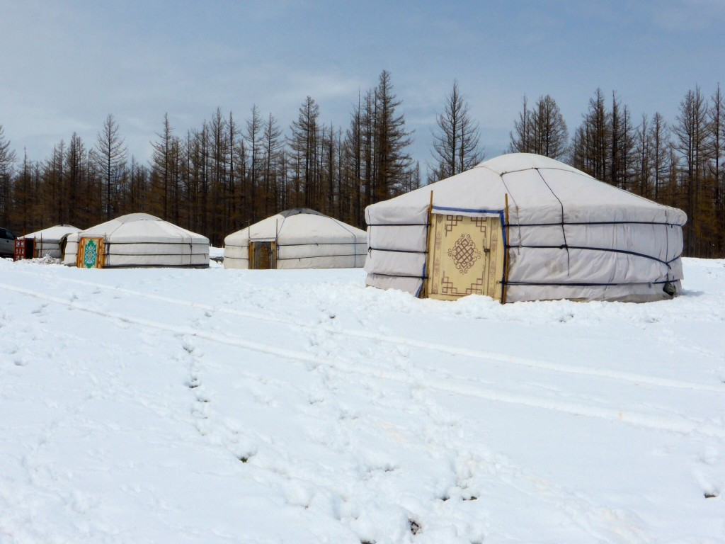 Mongolische Jurten