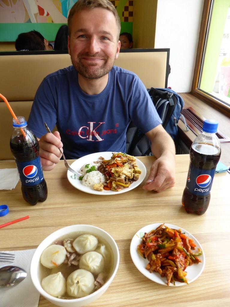 Mongolische Hammel-Dumplings