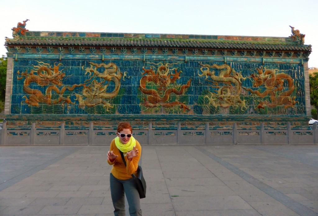 Die größte 9-Drachen-Wand Chinas