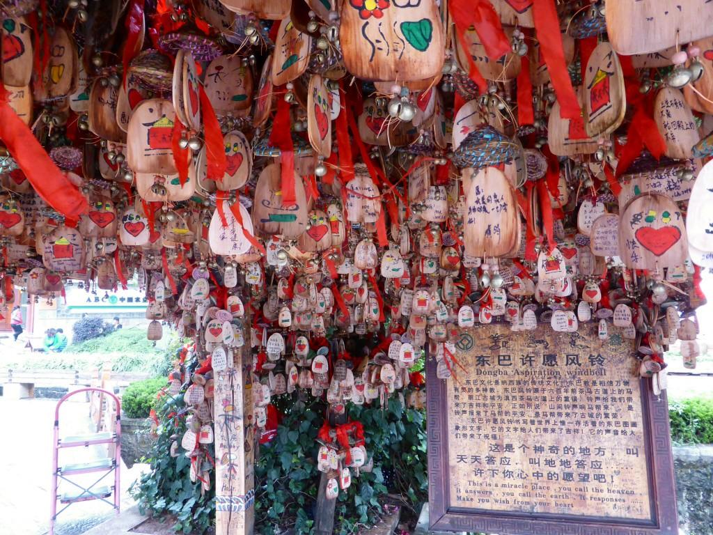 chinesische Liebesschlösser