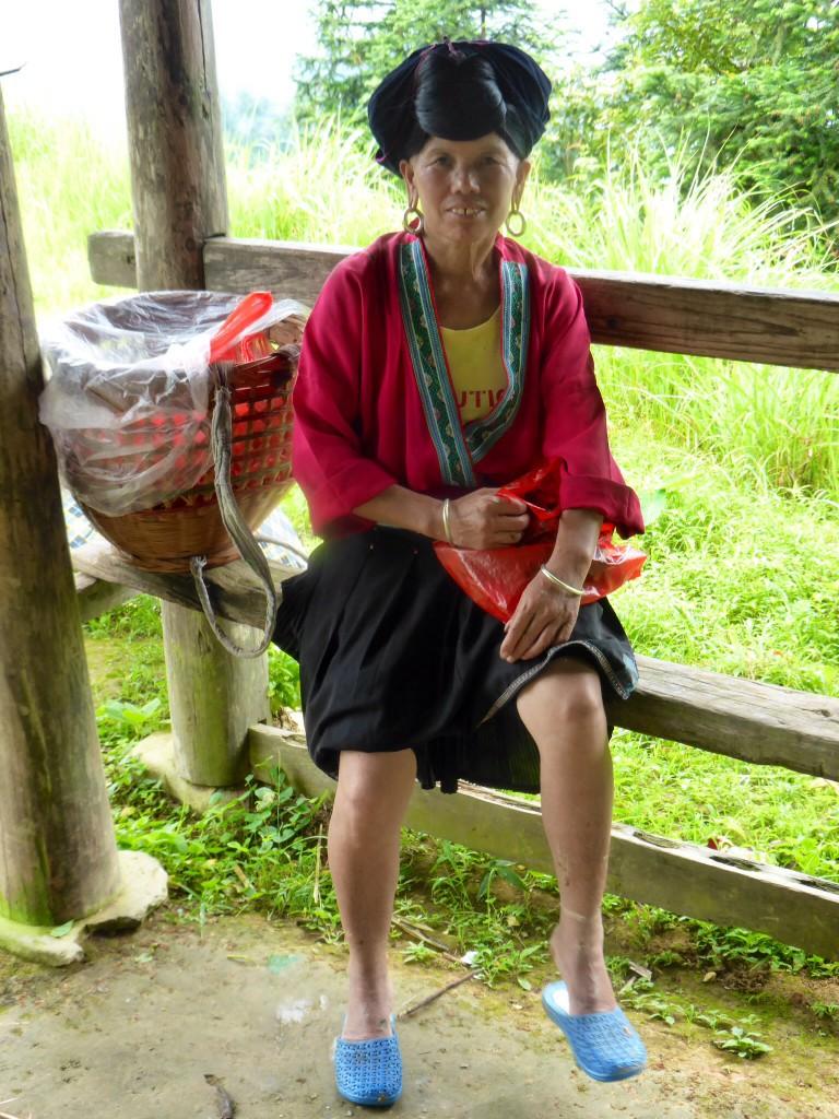 Eine Angehörige der Jiao