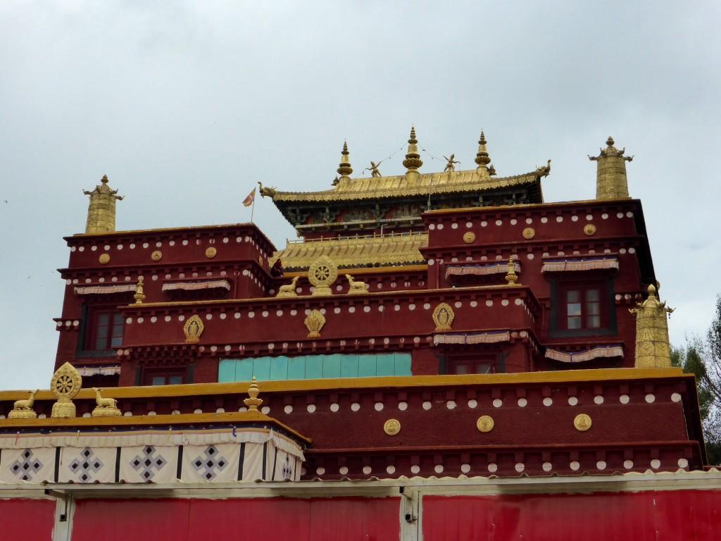 Das Kloster in Litang