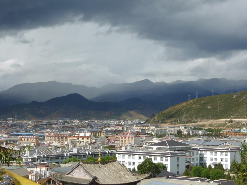 Blick über Shangri-La