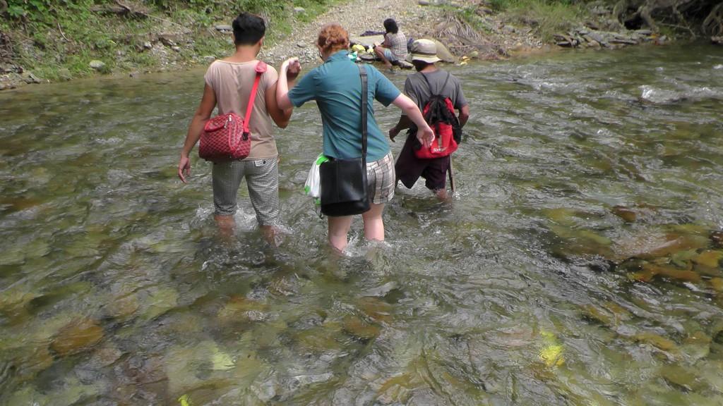 Wanderung zu den Batak