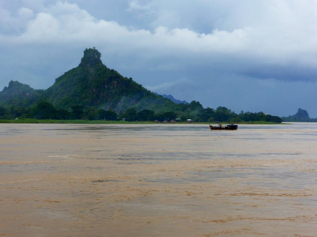 Der Ayarwaddy bei Hpa An