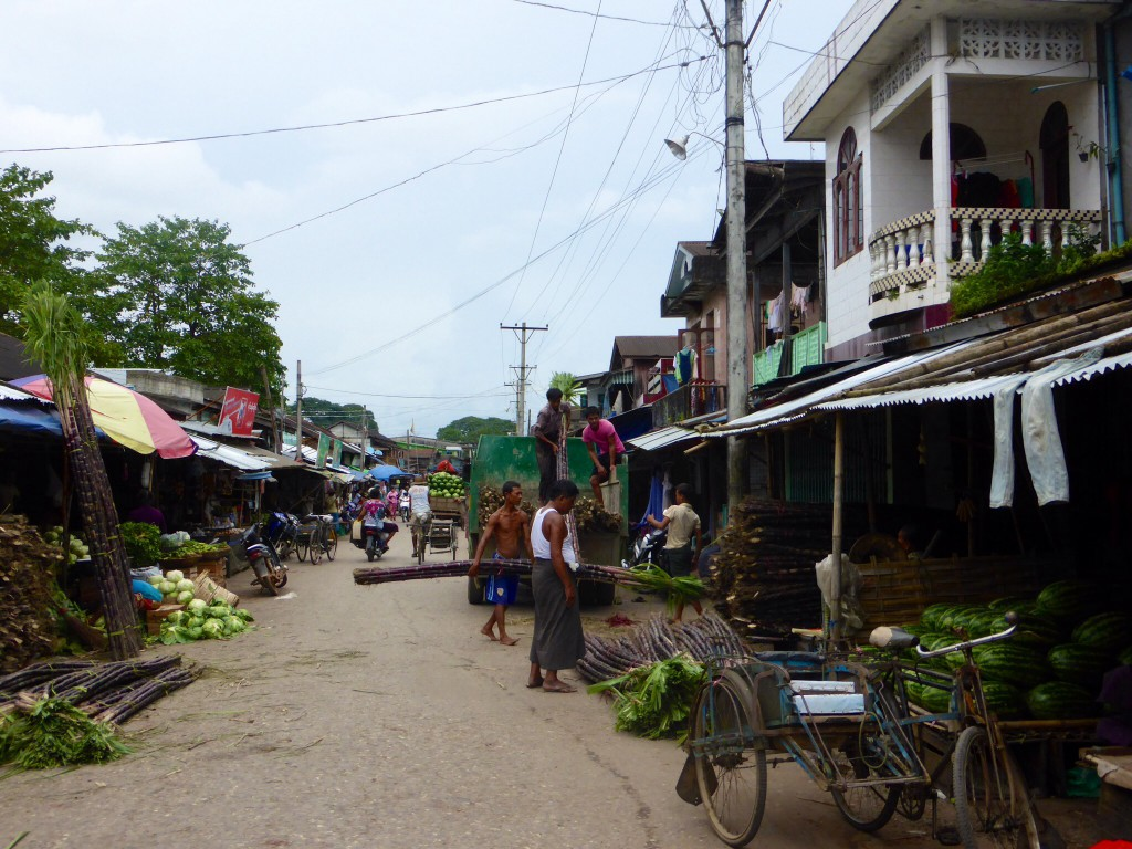 Markt in Hpa An