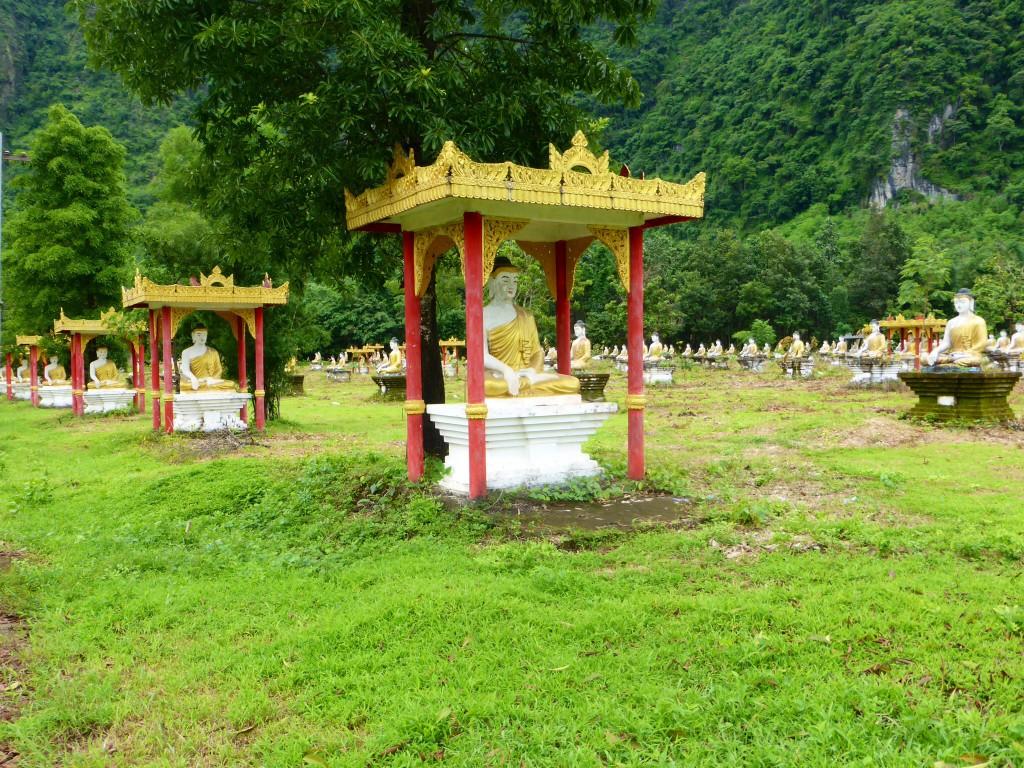 Buddha-Plantage bei Hpa An