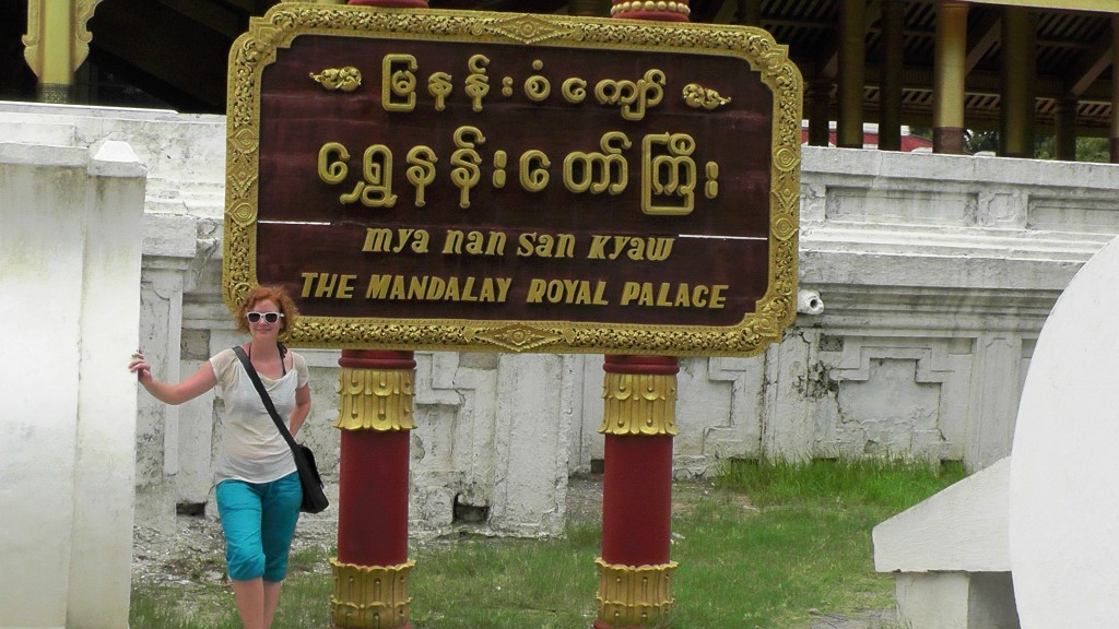 Sightseeing in Mandalay