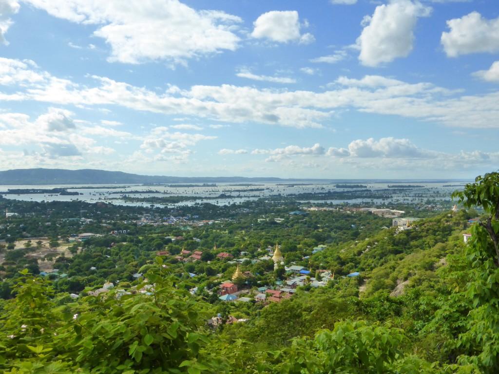 Sicht vom Mandalay Hill