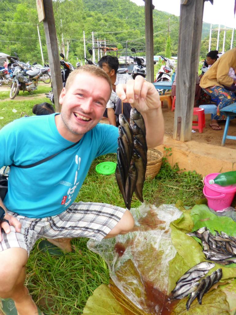 Uli auf Fischfang