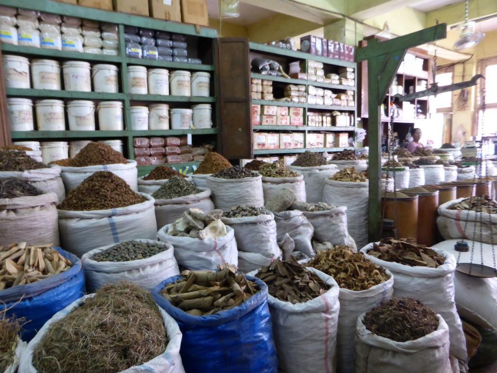 Gewürz- und Heilkräutermarkt