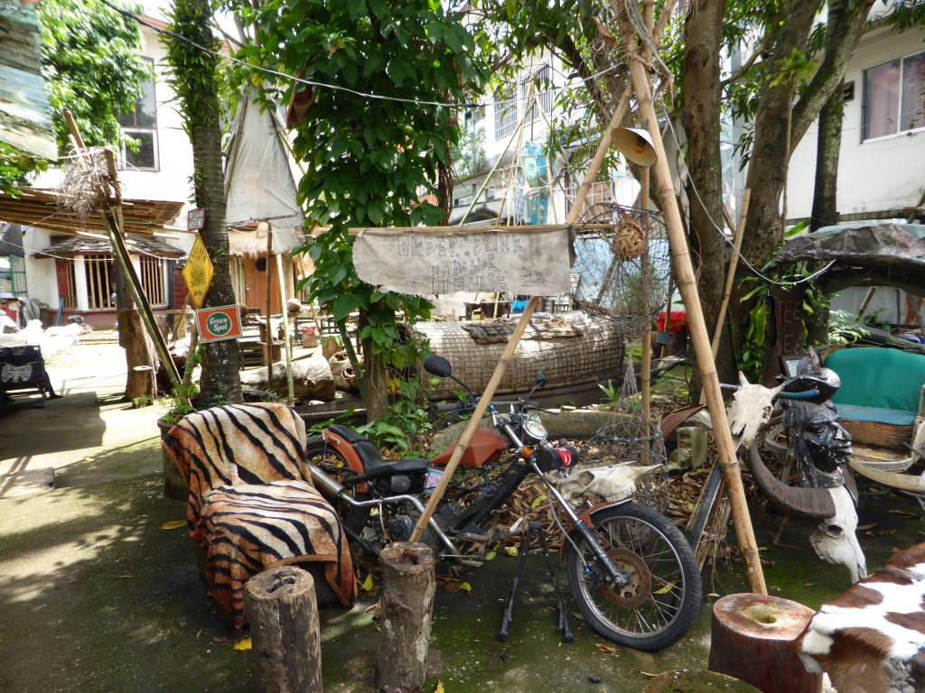 Coole Biker-Bar in Chiang Rai
