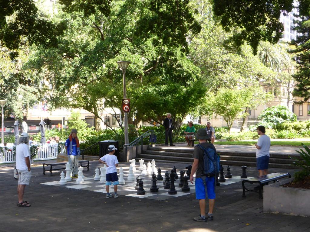 Schach-Spielereien