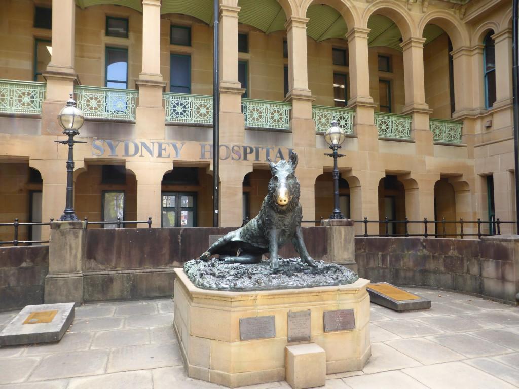 Eines der aeltesten Gebaeude Sydney's