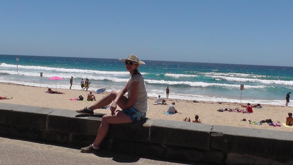 Am Manly Beach