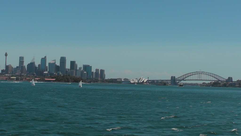 Faehrfahrt nach Darling Harbour