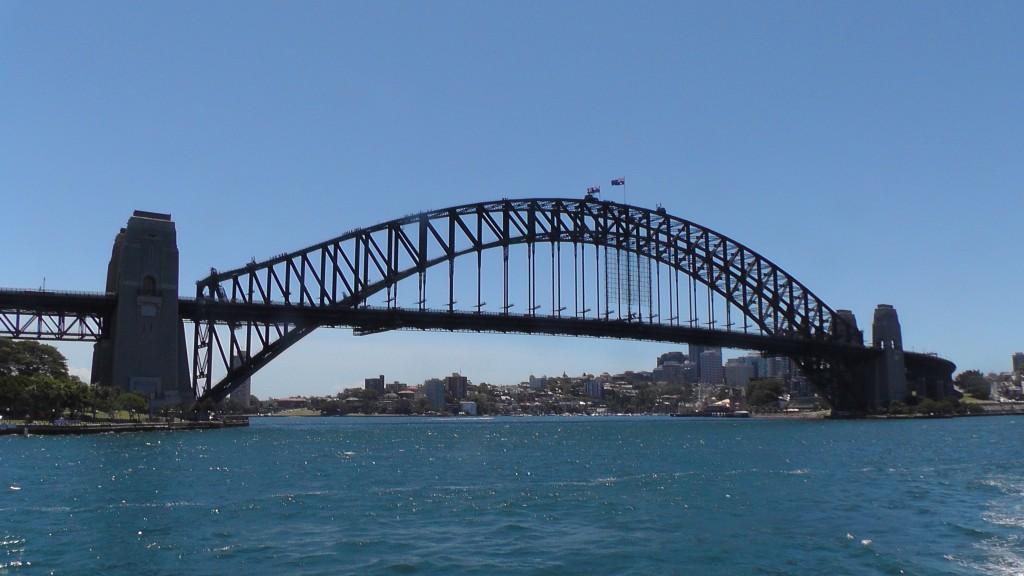 Beeindruckende Harbour-Bridge