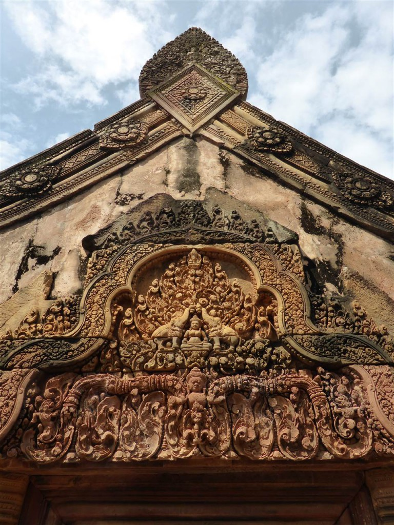 Toll verzierter Namteay Srai