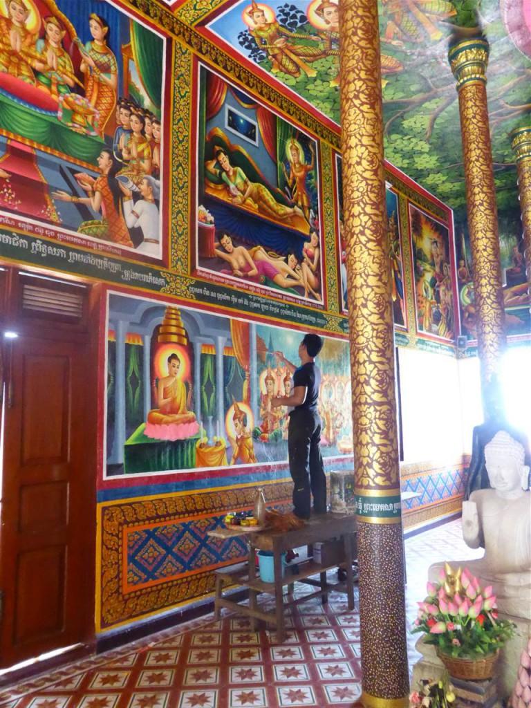 Tempel in Sihanoukville