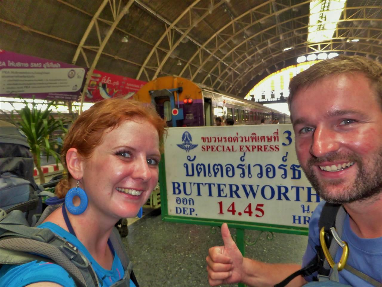 Mit dem Zug von Bangkok nach Malaysia – 3 Länder in 2 Tagen