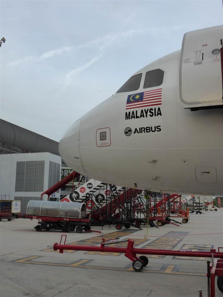 Flug nach Medan