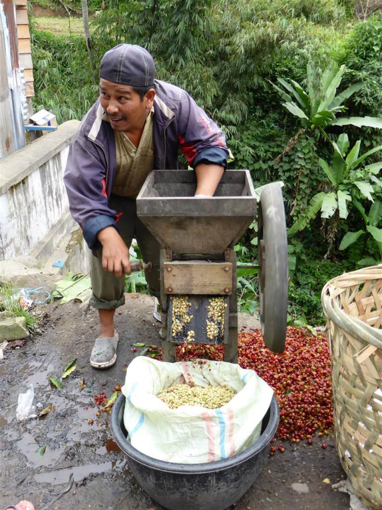 Handgemahlener Kaffee