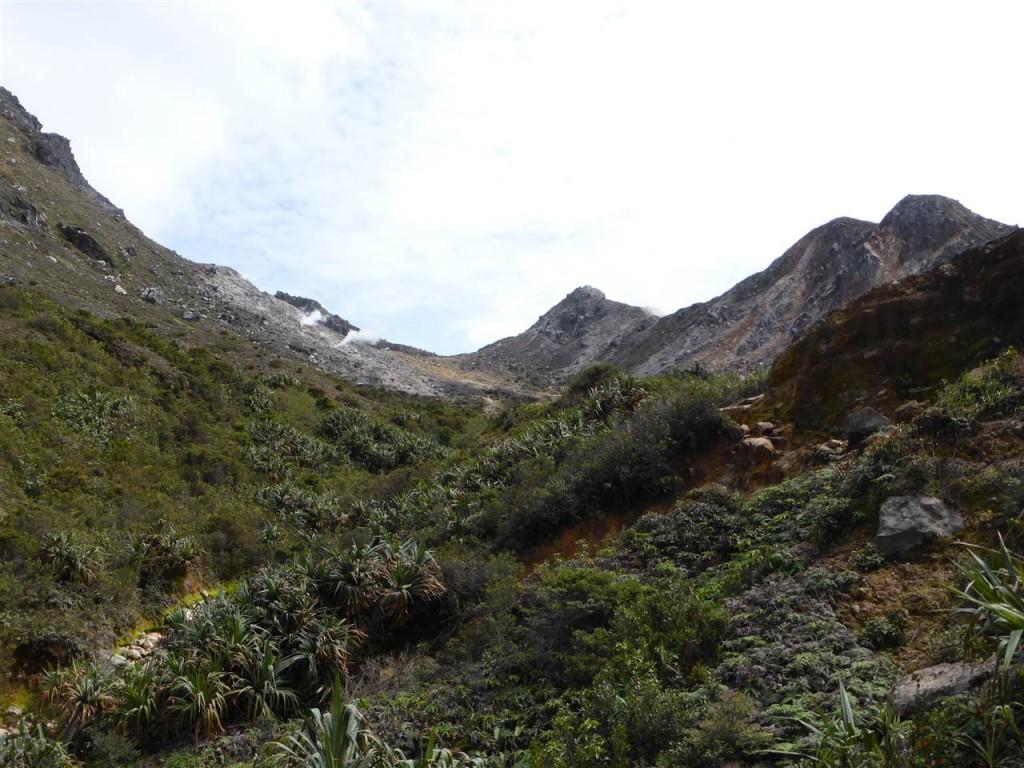 Aufstieg auf den Gunung Sibayak
