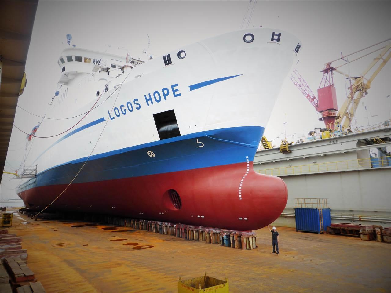 Singapur – Besuch auf einem Schiff voll Hoffnung