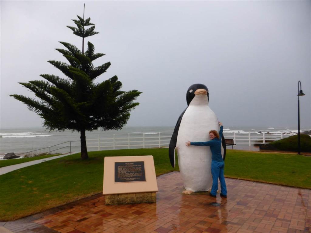 Pingu! Im gleichnamigen Dorf