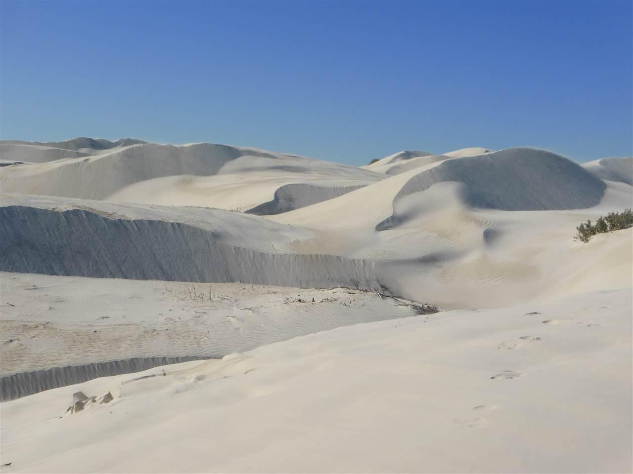 Sand, soweit das Auge reicht