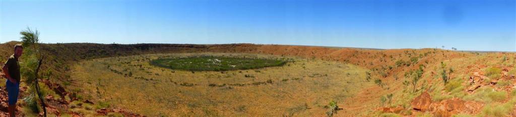 Der Wolfe Creek Krater