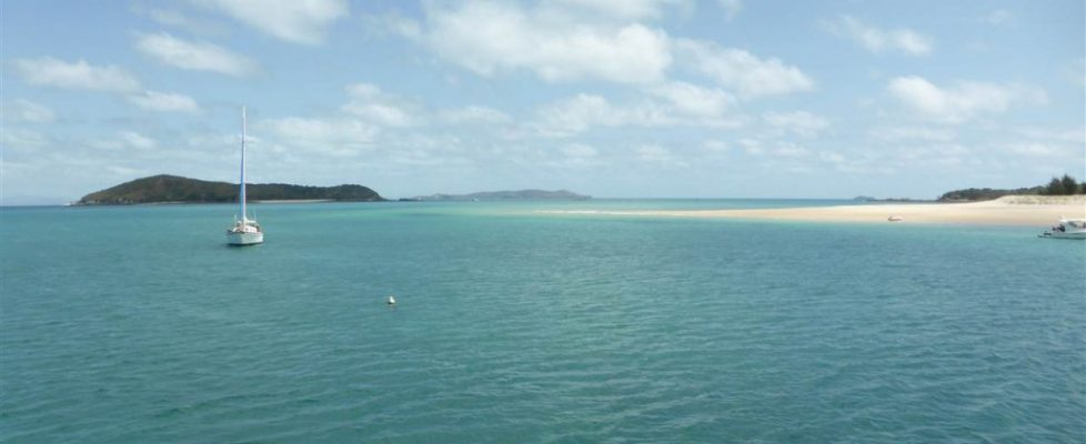 White Beach, Keppel Island