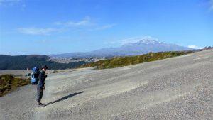 Unser Zeltplatz vor dem Mt. Ruapehu