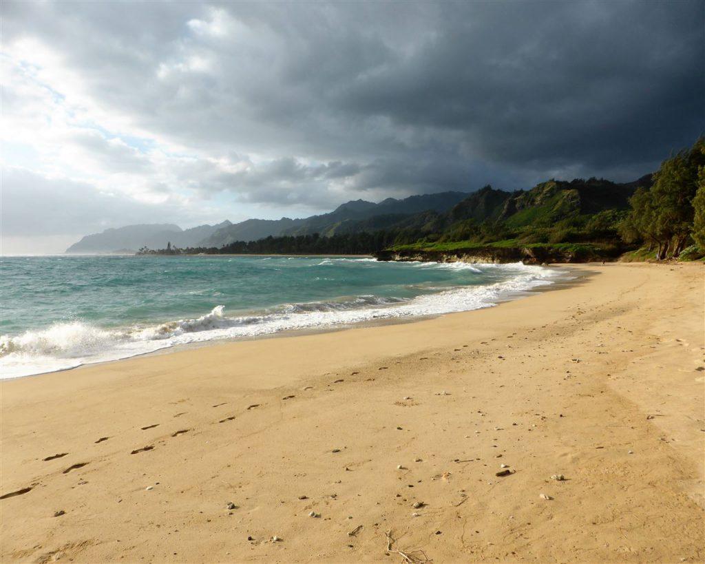 ...hier entfuhr uns auf Oahu ein erstes: wow, wie schön!