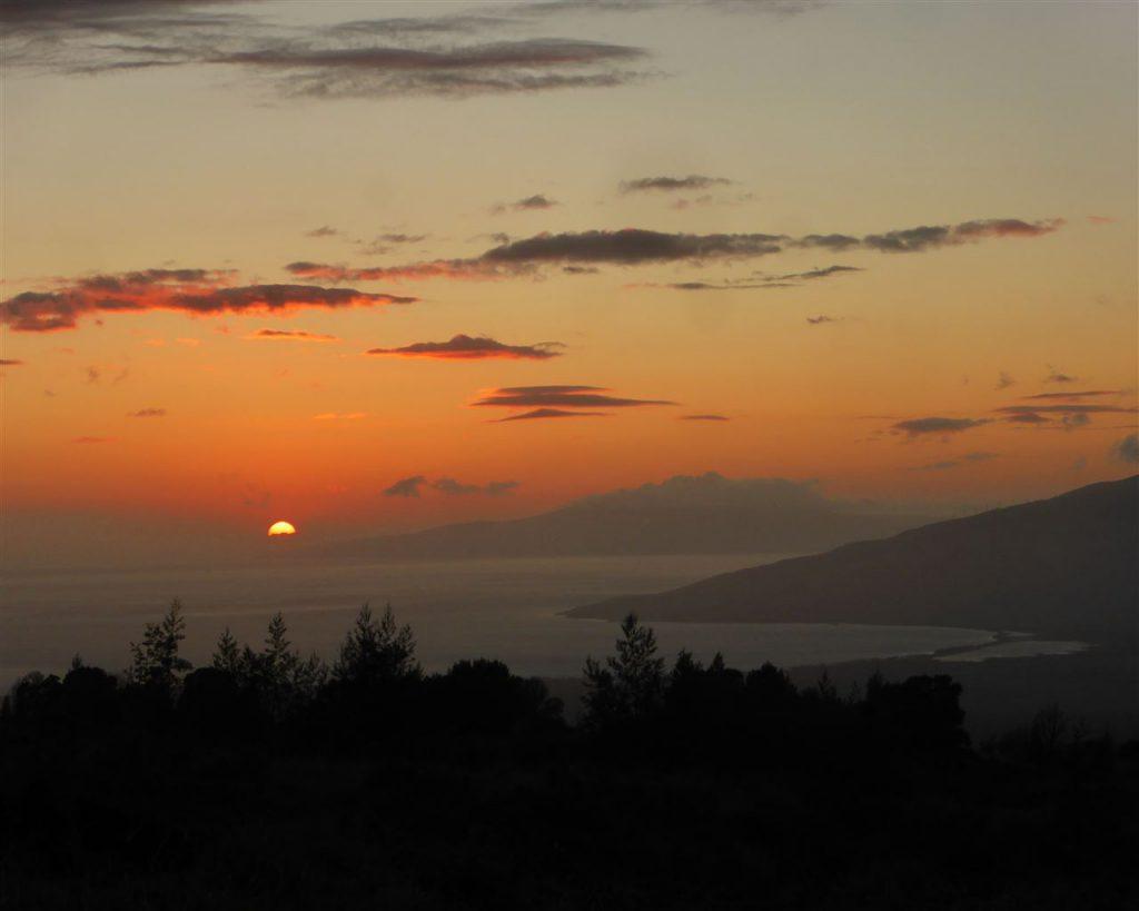 Magische Sonnenuntergänge...