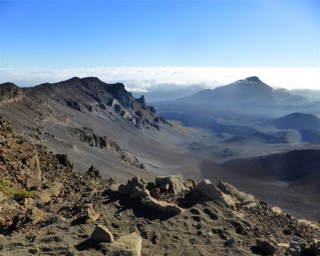 Der Haleakala Krater - oder war es der Mond?