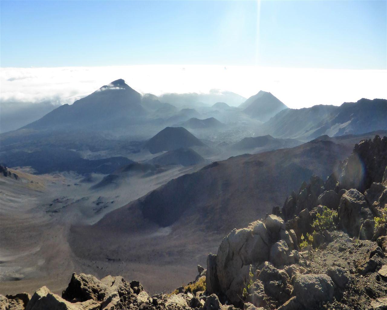 Vulkankrater auf Maui