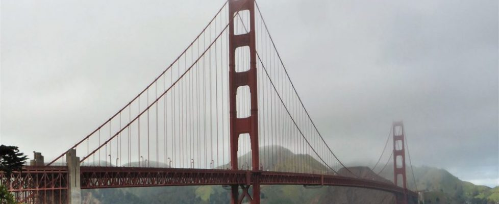Die Golden Gate Bridge!