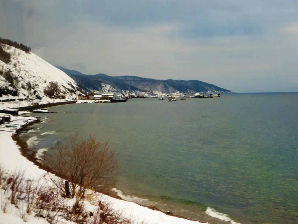 Sicht auf Port Baikal