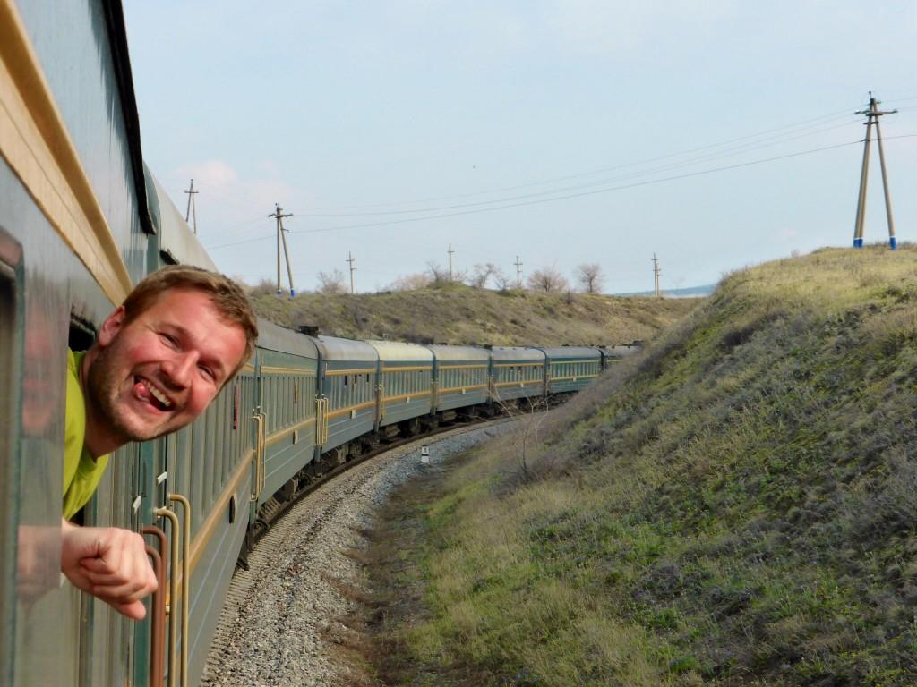 Eine Zugfahrt, die ist lustig...