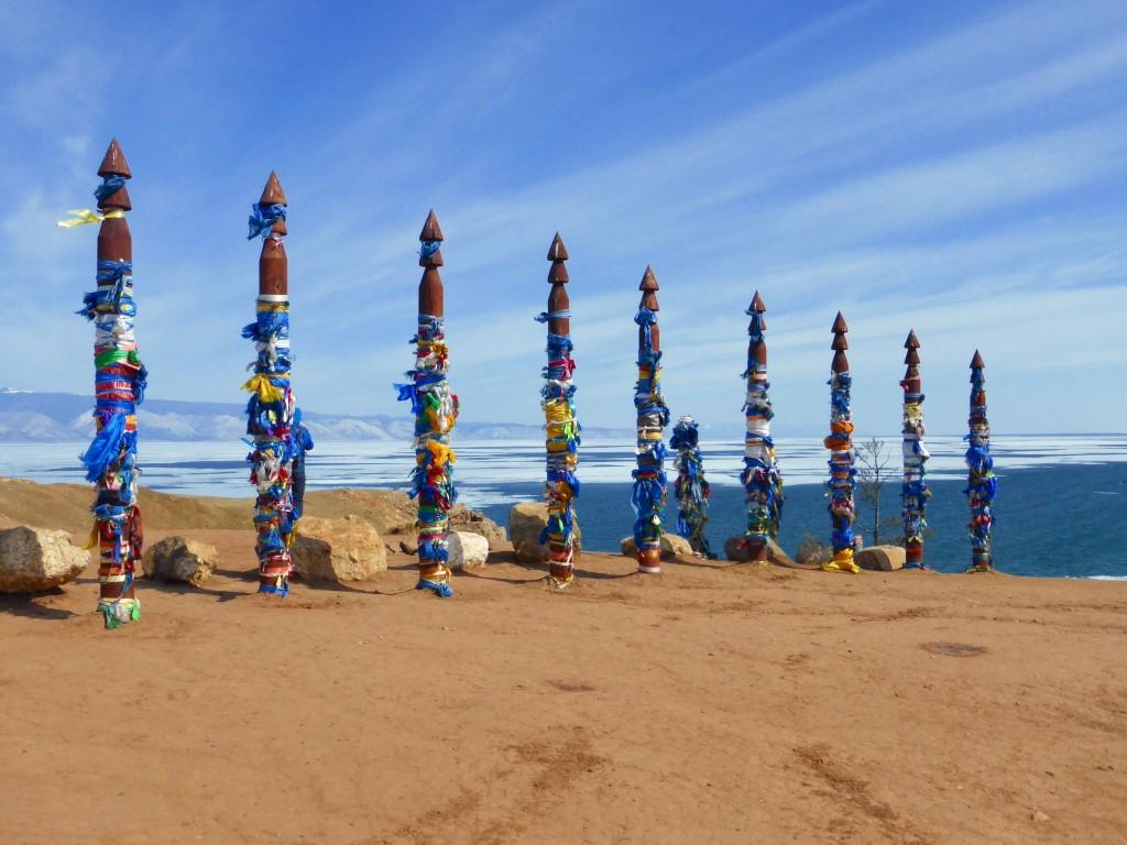 Der Schamanenfelsen - heiliger Ort des Buddhismus